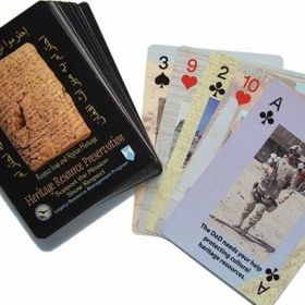 Preserving cultural heritage during war – it's all in the cards