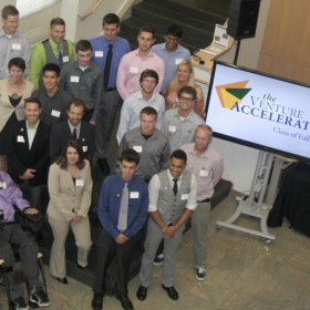 New Venture Accelerator teams introduced