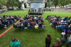Colorado State University 2014 Fall Address and University Picni