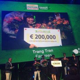 Trang Tran at Postcode Lottery Green Challenge Sept. 11, 2014