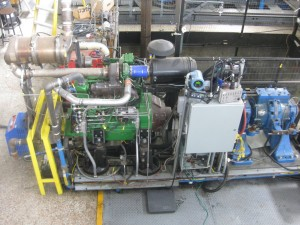 CSU researchers tested the homemade fuel blend on a 2007 John Deere tractor engine at the University's Engines and Energy Conversion Laboratory at the Powerhouse Energy Campus.