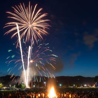 Homecoming 2014 fireworks