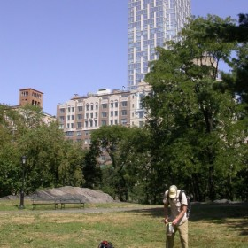 Microbes in Central Park soil: If they can make it there, they can make it anywhere