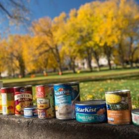 Cans helps feed Larimer County