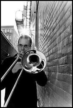 Trombonist Chris Van Hof