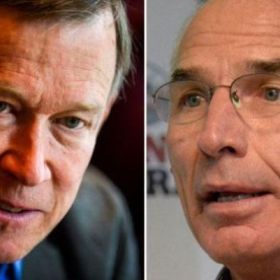 Televised governor's debate at CSU: Hickenlooper and Beauprez