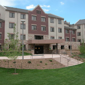 Summit Hall shines in sustainability thanks to students and staff