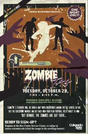 zombie tag flyer