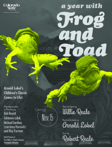 Poster for Frog and Toad