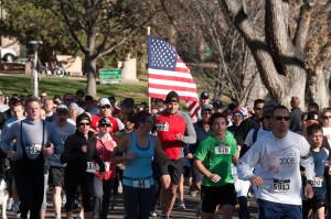 Veteran's Day 5K on the Colorado State University Oval