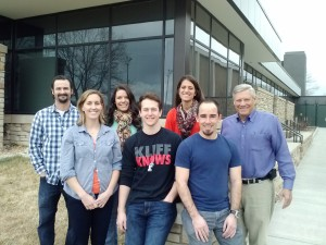 photo of the lab staff