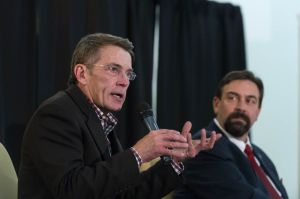 Bryan Willson Delivers Colorado State University President's Com