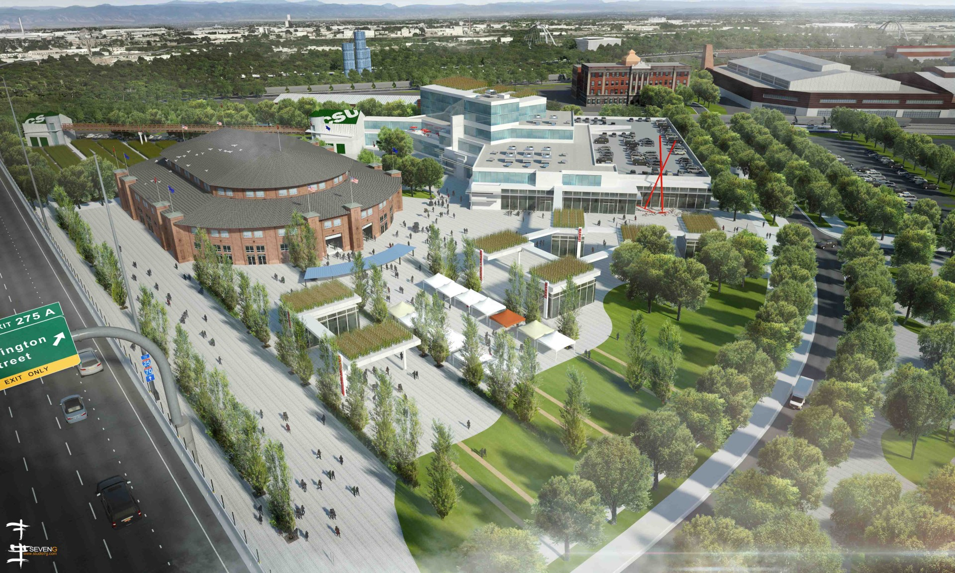 Csu Part Of Master Plan For National Western Center Source