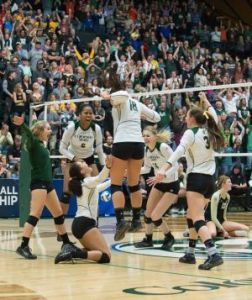 NCAA Volleyball Tournament at Colorado State University