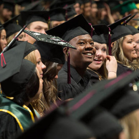 Graduates, celebrate! Commencement Dec. 19-20