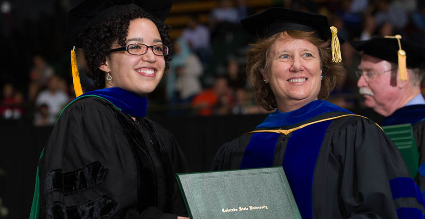 2014 Colorado State University Graduate School Commencement