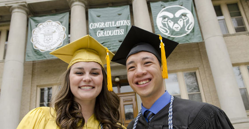 Commencement at Colorado State University
