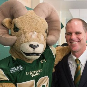 New football coach had to scramble to be a Ram