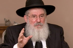Rabbi Nissan Mangel - Scholar - Large