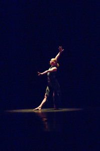 Denna Thomsen at the CSU Spring Dance Concert in 2007.
