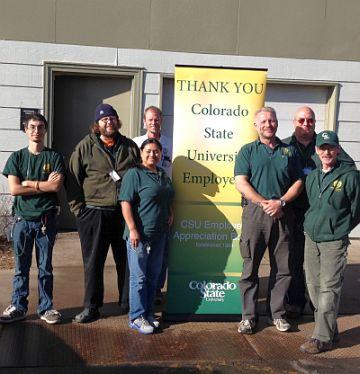 University Village Maintenance staff