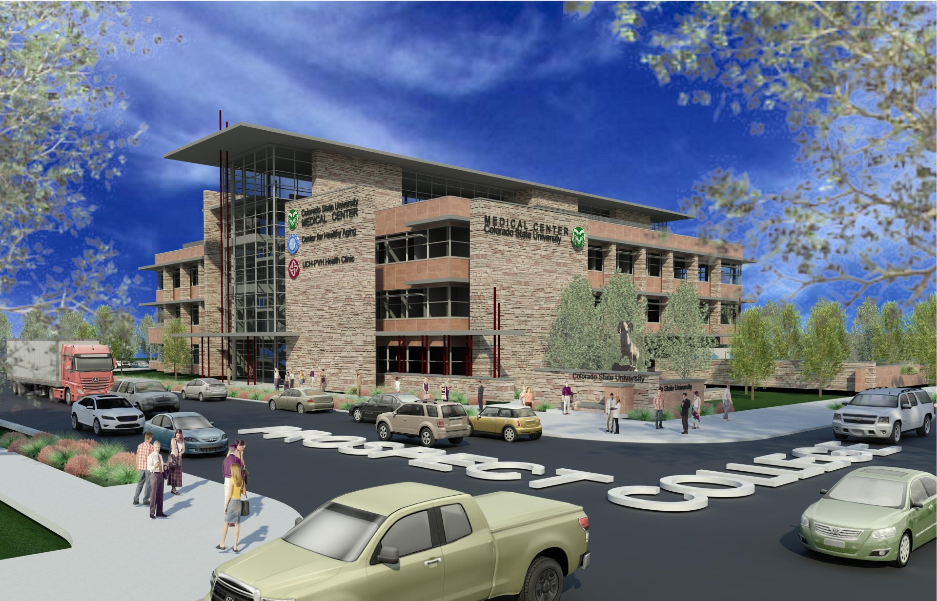 New Health Medical Center Planned As Gateway To Campus Source