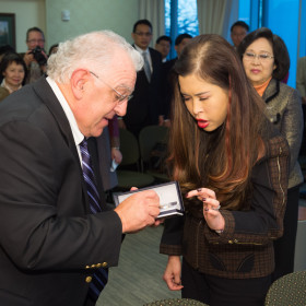 Princess of Thailand makes second visit to CSU to learn about cancer research
