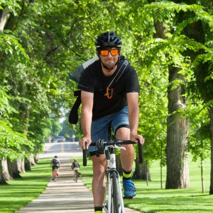 Two transportation grants to improve bike commutes to campus