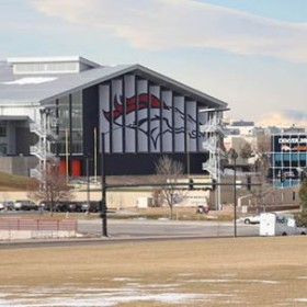 Rams football to scrimmage at Broncos training facility