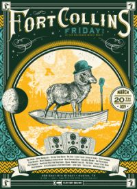 Play Fort Collins poster featuring Play Fort Collins, featuring the times, dates, and performers