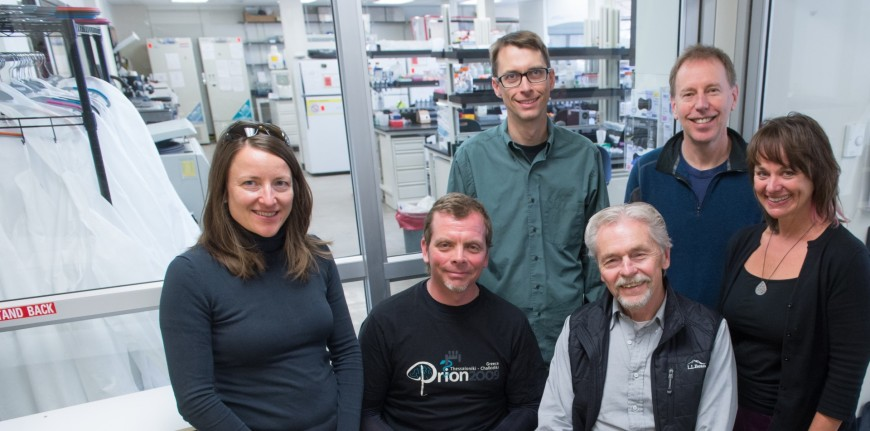photo of members of the Prion Research Center