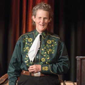 A day with Temple Grandin April 13