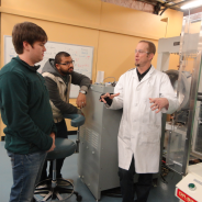 It's a (metal, ceramic) material world for CSU engineering professor
