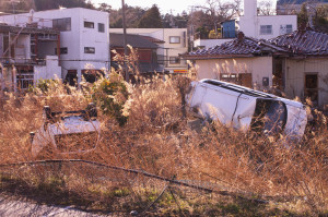 photo of the Fukushima exclusion zone