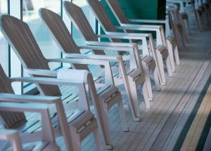 pool chairs at CSU Campus Recreation