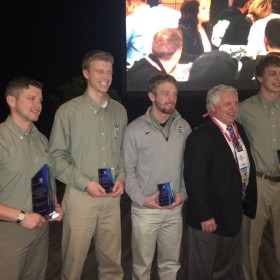 CSU team takes first in inaugural roofing competition