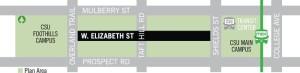 west eliz corridor map