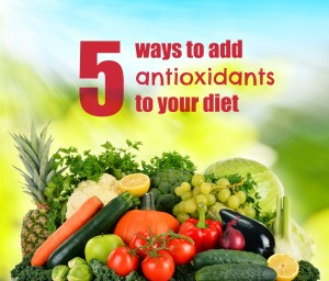 A photo of 5 ways to add antioxidants to your diet