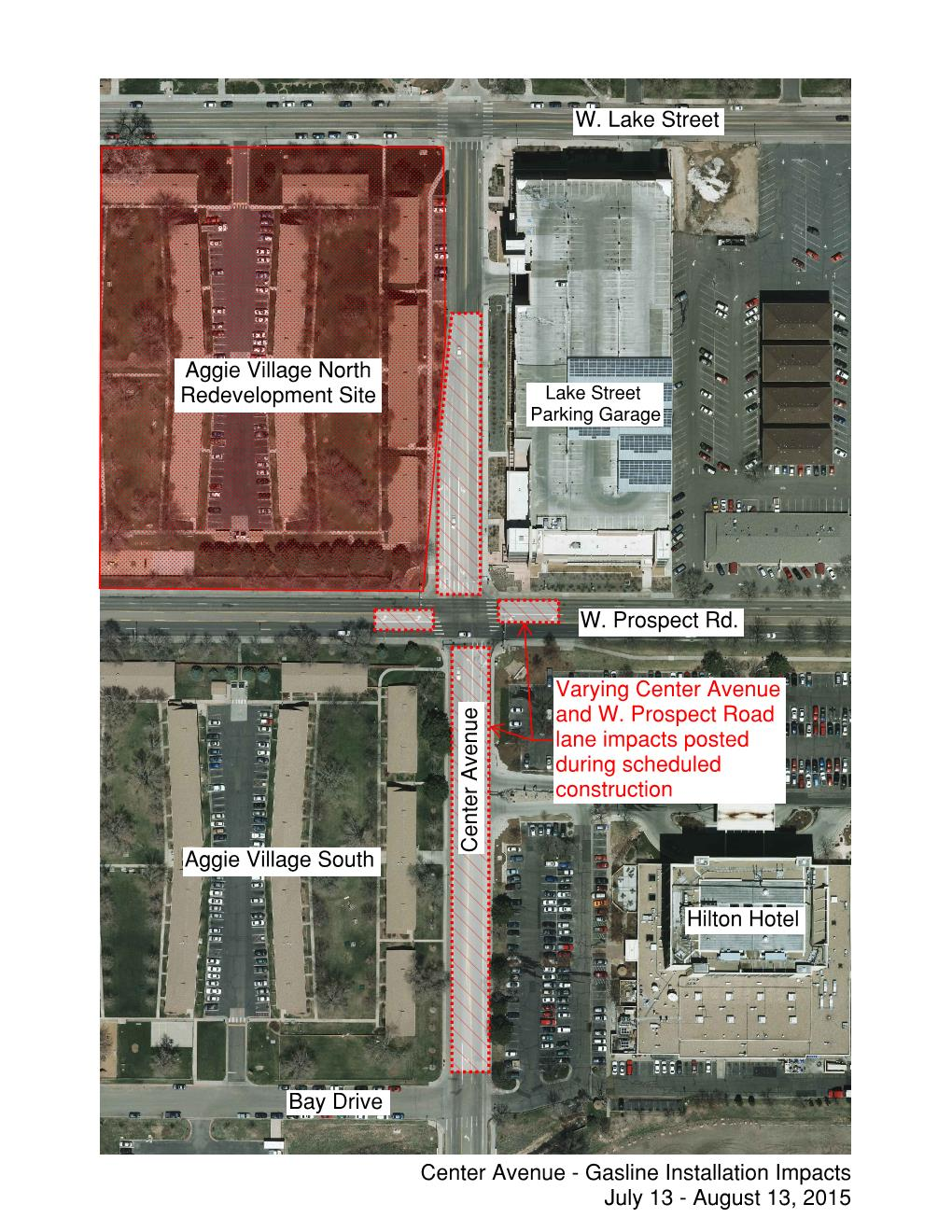 Gas line project impacts Center | SOURCE | Colorado State University