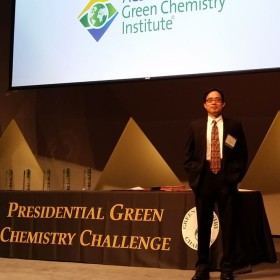 'Research Rockstar' honored for green chemistry research