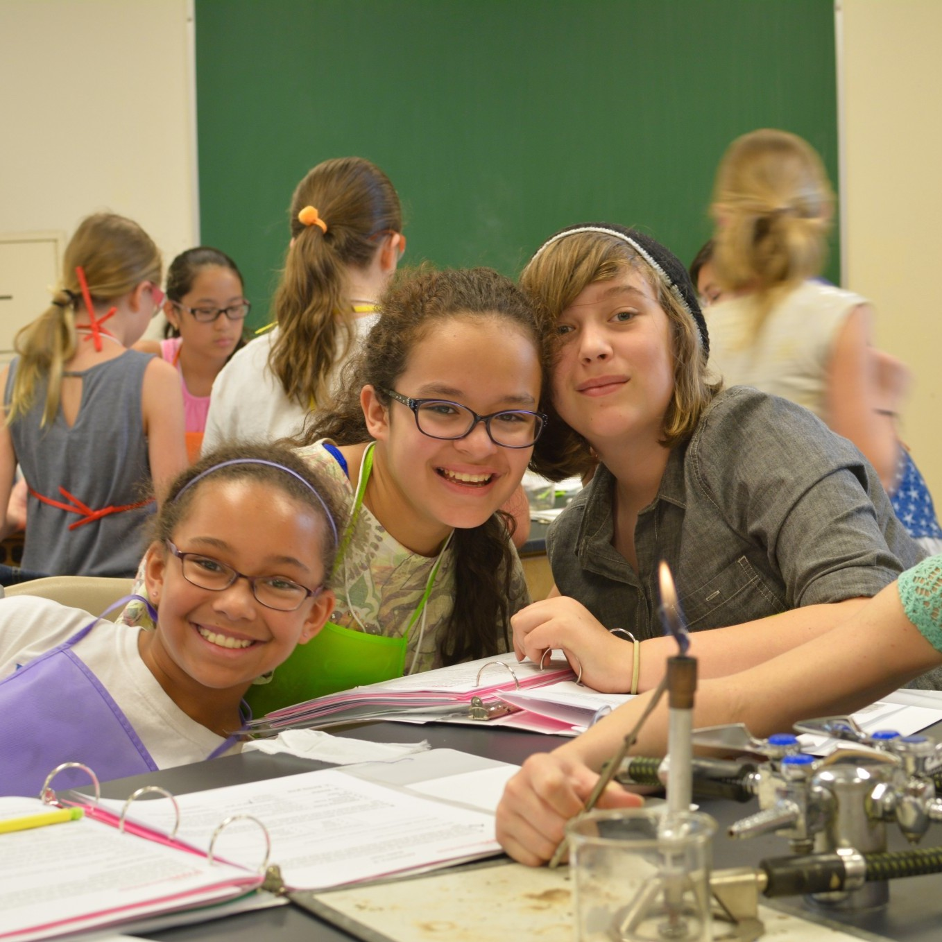 Stem School Program: Girls Hone Technical Skills Through Fashion In STEM
