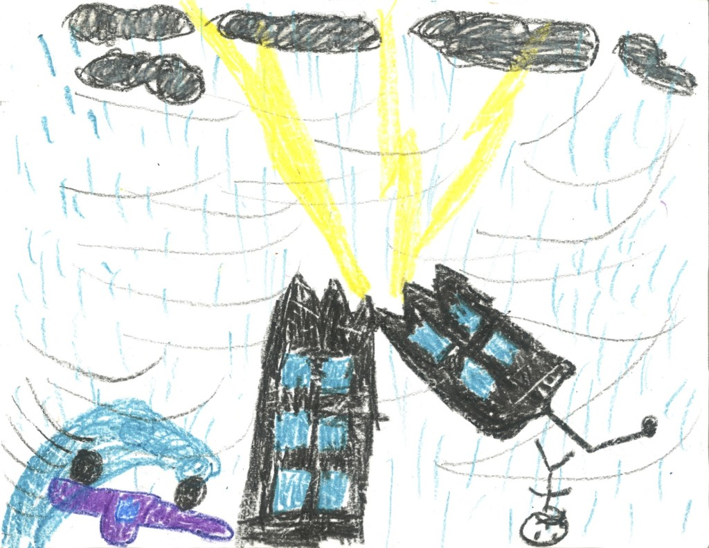 Hurricane drawing for kids