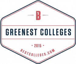 best colleges greenest