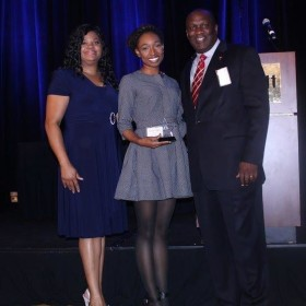 Stephany Fox named INROADS Intern of the Year