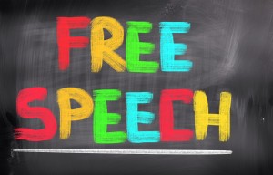 free speech graphic