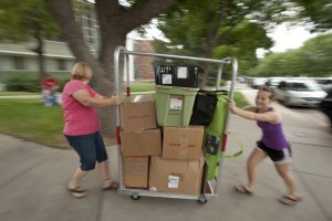 Move-in during Ram Welcome