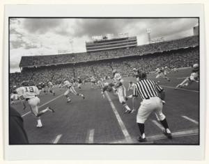 Photo Credit: Garry Winogrand (American, 1928-1984), Austin, Texas 1974 (Football Game), 1978. Silver Bromide print. Yale University Art Gallery, Gift of Elaine and Gerald Levine, B.A. 1960.