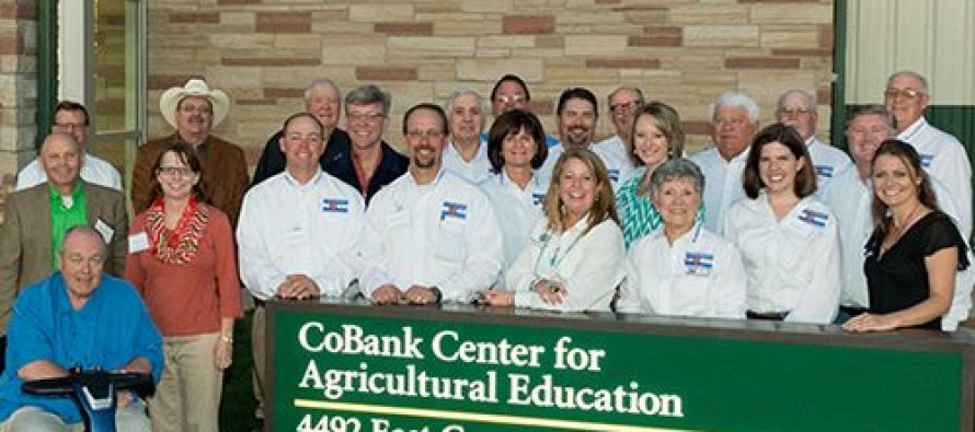 CoBank Center for Agricultural Education officially opens