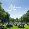 Housing and Dining Services provides a picnic for the entire CSU community after President Tony Frank's annual Fall Address on the Oval.