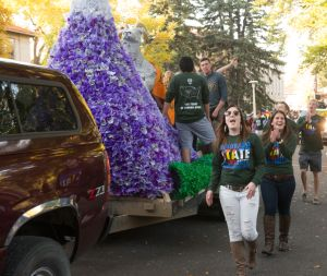 2014 Homecoming at Colorado State University. October 17, 2014